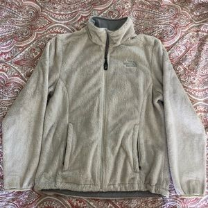 The North Face Osito Jacket in Vintage White